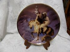 Collectible Plate~Spirit Of The North Wind~Franklin Mint~Hermon Adams