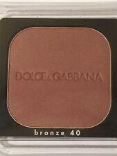 NIB Dolce & Gabbana Bronzer Shade #40 (Tester)  15g/.53oz
