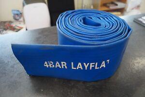 """10m Layflat Jetting Hose 4"""" 4 BAR"""