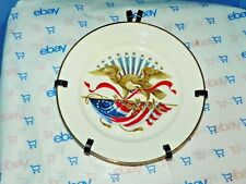 Bicentennial Collector'S Fundraiser Plate Made In Usa With Plate Hanger