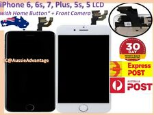 iPhone 6s 6 Plus 5 Screen Replacement LCD Digitizer Touch Display w/ Home Button