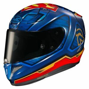 Open Box HJC RPHA 11 Pro DC Superman Full Face Motorcycle Helmet Size Large