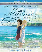 When Marnie Was There (Blu-ray/DVD, 2015, 2-Disc Set, Canadian) NEW