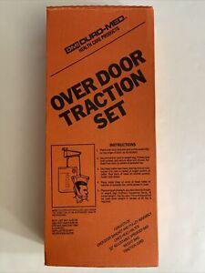 Over The Door Cervical Traction Set Head Halter Neck Pain Relief Brace Support