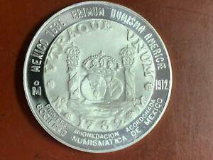 1972 MEXICO SILVER 1732 PHILIP V 8 REALES PILLAR DOLLAR