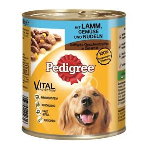 Pedigree Can Adult Lamb, Vegetables & Noodles 24 X 800g (3,85 €/ KG)
