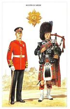 Postcard The British Army Series No.23 Scots Guards by Geoff White