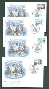 Russia AA91 4 FDC 2013 4v New Year GrA90 2 FDC 2013 4v Military Uniforms