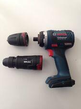 New Bosch 18v Cordless Brushless Flexiclick Drill Combo GSR 18 V-EC FC2