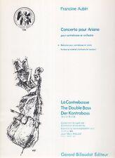 Concerto pour Ariane pour contrebasse et orchestre, réduction pour contrebasse e