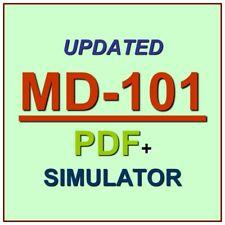 Latest MD-101 Verified Practice Test Exam QA SIM PDF+Simulator