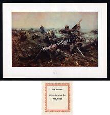 Mattschaß 8. Pommersches IR Nr.61 Gefecht Dijon Lisaine Heldentod Standarte 1871
