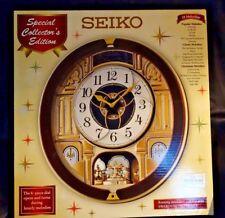 Seiko Musical Melodies In Motion Clock SPECIAL EDITION Home Decor QXM541BR NIB