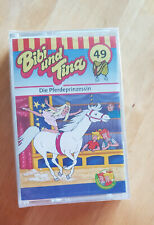 Bibi und Tina - Die Pferdeprinzessin - Band 49 - Kassette - Neu - Noch verpackt