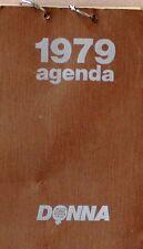 1979 AGENDA  Donna