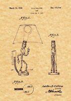 Tennis or Squash Racket 1933 Patent Print Art Print Ready To Be Framed!
