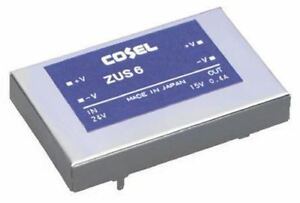 Cosel 6W Isolated DC-DC Converter Through Hole, Vout 5V dc, I/O isolation 500V a