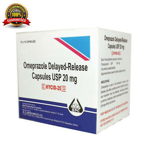 Omeprazole  Delayed Release 100 Tablets 20mg OTC