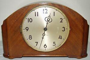 RARE VINTAGE SETH THOMAS SHELF MANTLE WITH CHIME CLOCK ELECTRIFIED MN: E702-004