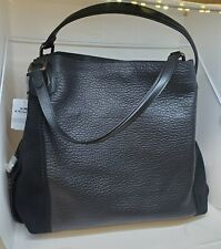 COACH EDIE 42 IN Mixed Leather Black Women's Shoulder Bag 57647 **NEW**