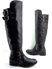 Women's DV by Dolce Vita LUCILE Knee High  Riding Boot Black Size 5 M