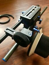 Video Rig Baseplate 15mm + Follow Focus F2