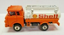 Shinsei Mini Power Die Cast no.17 GMC Cab Over Shell Tank Truck. Made in Japan