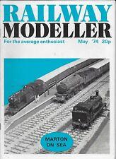 *RAILWAY MODELLER MAGAZINE - MAY 1974 - ft O GAUGE MARTON-ON-SEA TERMINUS [U]