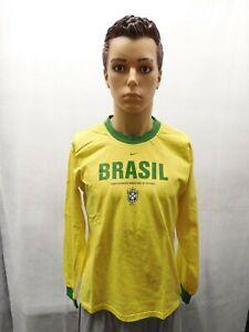 Nike Boys XL Brazil Ronaldo Long Sleeve Shirt