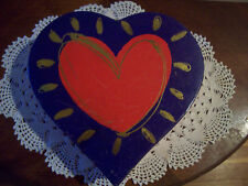 2003 Lindy Bowman Gift Box - Valentine's Day - Heart - Eileen Toohey