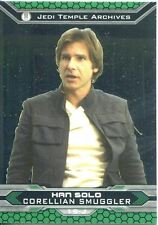 Star Wars Chrome Perspectives II Refractor Parallel Base Card 19-J Han Solo