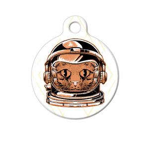 Pet ID Name Tag Cat Astronaut Major Tom Personalised Customised Dog Cat Tag
