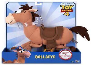 Toy Story 4 Bullseye Woody Horse Disney Soft Huggable Ages 4+ Pony Play Race Fun