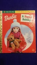 """a Little Golden Book""~Barbie, A Happy Holiday. A Story About Helping Others."