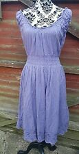 Pretty JOULES 'Shelley' Cotton Dress,  Aubergine, Size 12