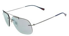 Prada Linea Rossa Sunglasses SPS 55P c. 5AV2E2 in Gunmetal with Mirrored lenses