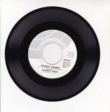 "Carole KING Vinyl 45T 7"" POCKET MONEY - SWEET SEASONS - ODE 66022 F Rèduit RARE"