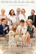 The Big Wedding Original D/S Rolled Movie Poster 27x40 NEW 2013 Robin Williams