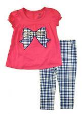 Kids Headquarters Infant Girls Fuchsia Tunic 2pc Legging Set Size 18M $36