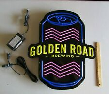 Golden Road Brewing Co Craft Led Beer Beer Sign Light Bar opti Neon Mango Cart