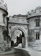 1910, Castle Gate, Lincoln, England, Magic Lantern Glass Slide