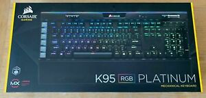 Corsair K95 Platinum RGB Gaming Keyboard - Cherry MX Speed Switches