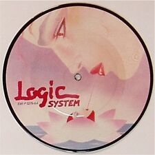 "LOGIC SYSTEM 'DOMINO DANCE' UK PICTURE DISC 7"" SINGLE"