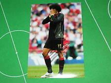 Manchester United FC Marouane Fellain Signed Belgium Belgique Action Photograph