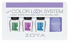 ZOYA COLOR LOCK SYSTEM 4-pc Mini Polish Set ~ ANCHOR ARMOR FAST DROPS REMOVE NIB