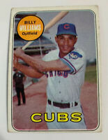 1969 Billy Williams # 450 Chicago Cubs Topps Baseball Card HOF