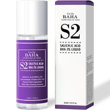 Facial Salicylic Acid 2% BHA Liquid Peel Acne Scars Pore Blackhead Pimples Toner