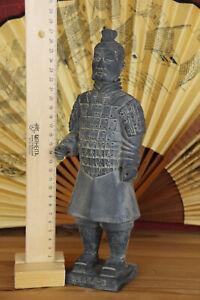 Terrakotta Feldsoldat 27cm (Armee, Soldat, Krieger, Figur), Gr. XS Sonderpreis