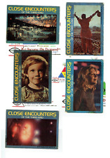 """Close Encounters Of The Third Kind Wonder Bread 5 Trading Cards 1977 & Otherzsâ""""¢"""