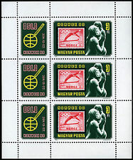 Hungary 2649 M/S, MNH. Mother & Child, by G.Vigeland. NORWEX Stamp Exhib. 1980